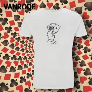 "T-Shirt-Modell ""Erdnase – Bee Ace"""